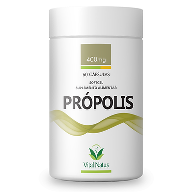 Própolis - 60 cápsulas - 400mg