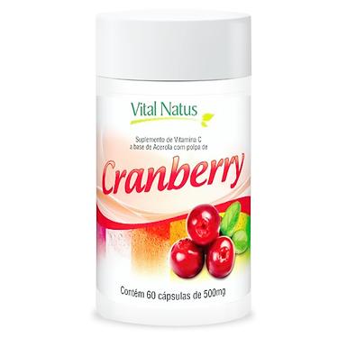 Cranberry - 60 cápsulas - 500mg