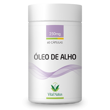 Óleo de Alho - 60 cápsulas - 250mg