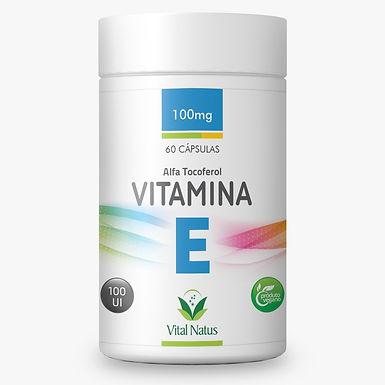 Vitamina E - 60 cápsulas - 420mg