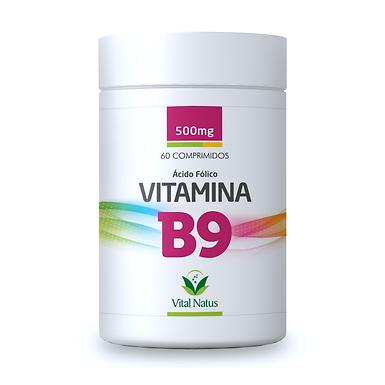 Ácido Fólico - Vitamina B9 - 60 comprimidos - 240mcg