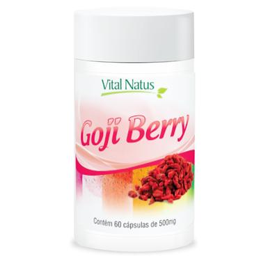 Goji Berry - 60 cápsulas - 500mg