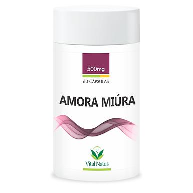 Amora Miura - 60 cápsulas - 500mg