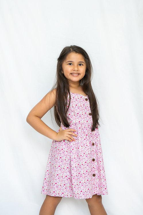 Lulu Dress (Cotton Floral)