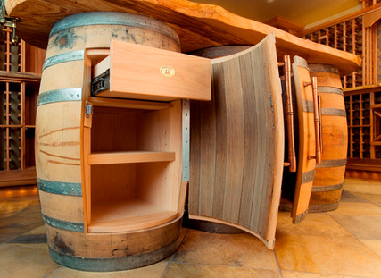 Wine Room Barrels