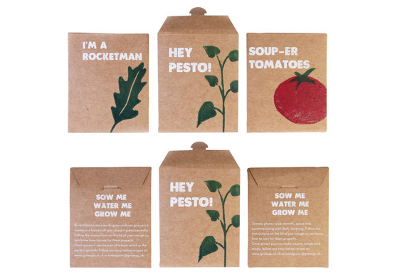 Seed packaging.
