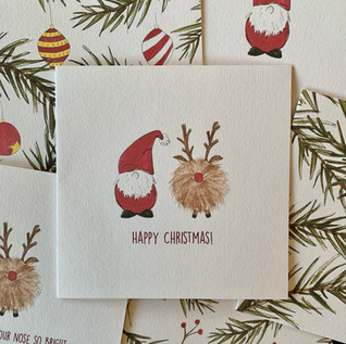 Christmas cards sold on Etsy Dec 2020