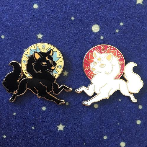 Black / White Wolf Gods