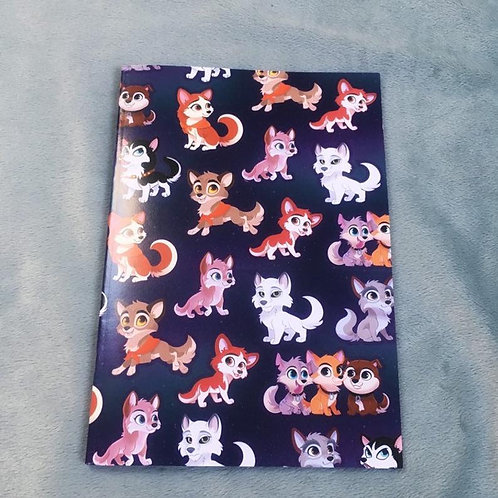 Lined Balto Notebook A5