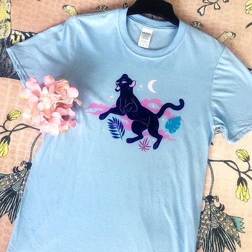 Panther Light Blue T-shirt