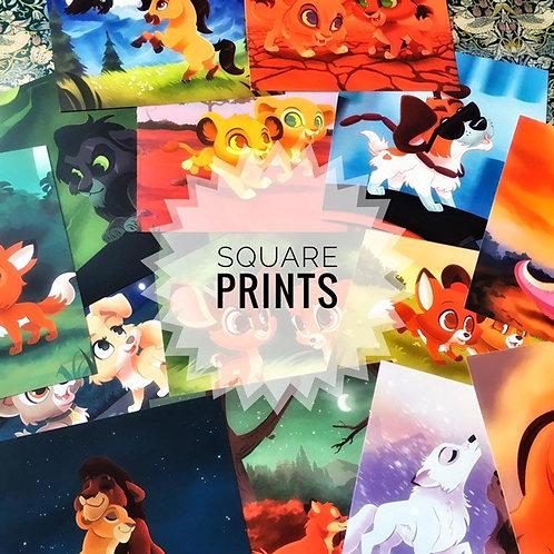 Square Prints!