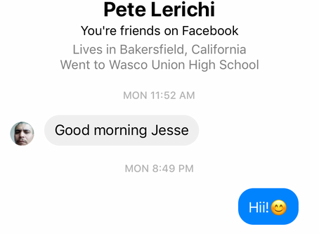 Bakersfield, CA creep