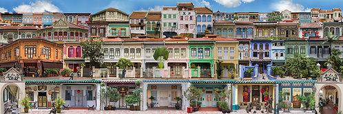 """Shophouses"" by Edwige Lamy"