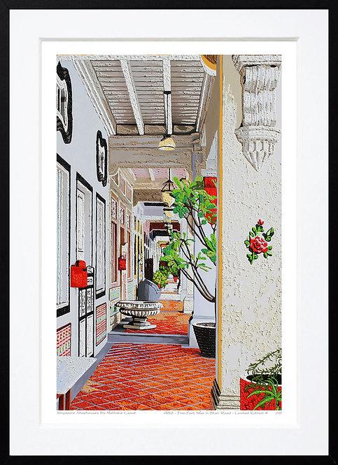 """Five-Foot Way in Blair Road"" by Nathalie Laoue"