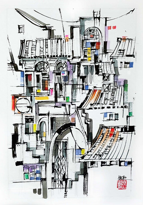 """Street Life 3"" by Melissa Teo"