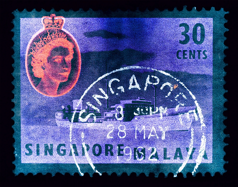 """""""Singapore Stamp Series 30 cents"""" by Heidler & Heeps"""