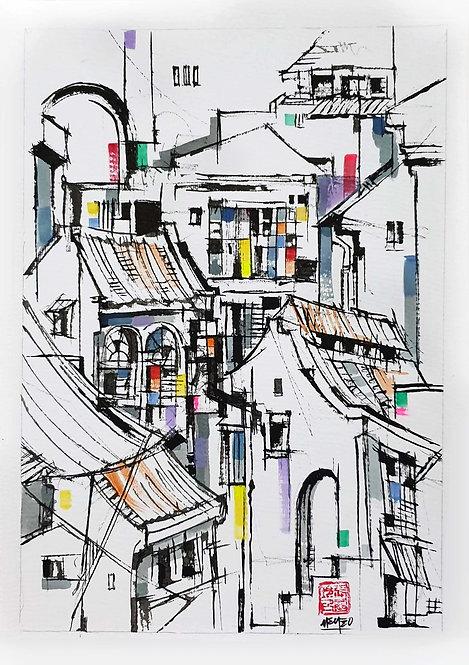 """Street Life 1"" by Melissa Teo"