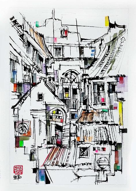 """Street Life 2"" by Melissa Teo"