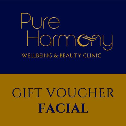 Gift Voucher ~ Facial