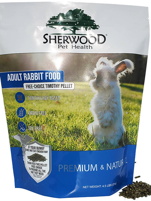Sherwood Adult Rabbit Food - Free Choice Timothy Pellet