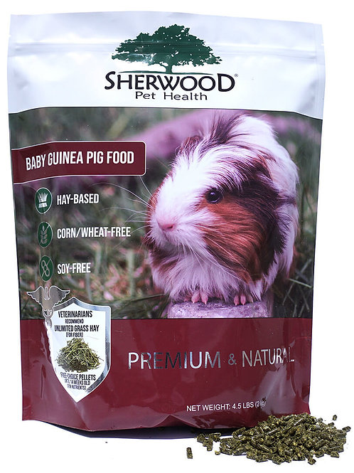 Sherwood Guinea Pig Baby Food