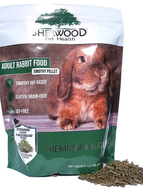 Sherwood Adult Rabbit Pellets - Timothy