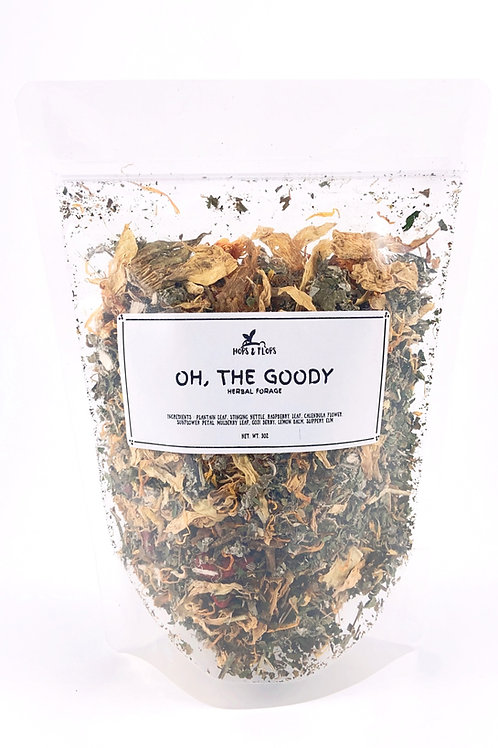 Oh, The Goody Herbal Forage -  Fiber and Anti-Fungal
