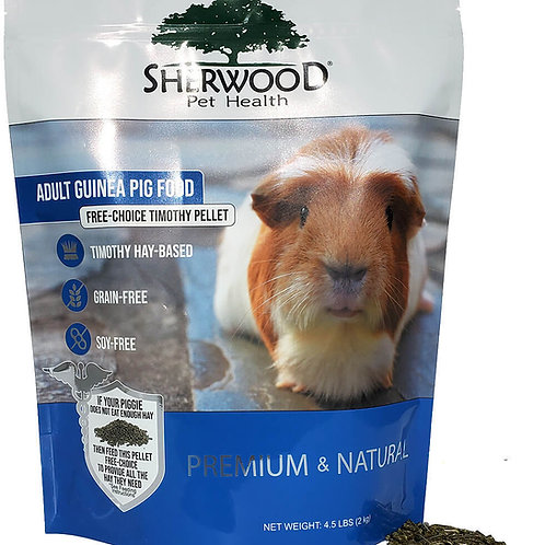 Sherwood Adult Guinea Pig Food - Free Choice Timothy Pellet
