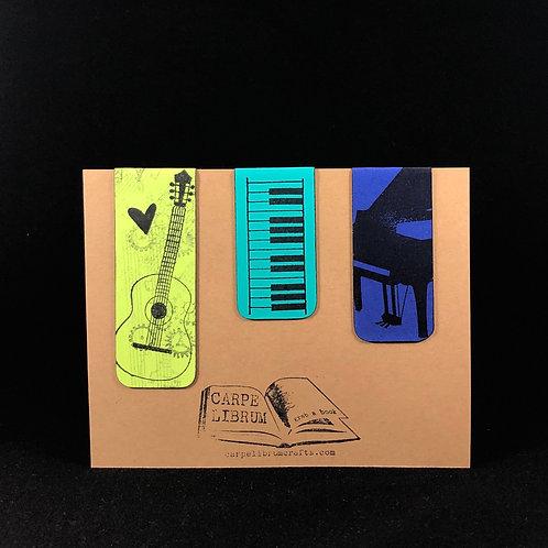 Musicians Magnetic Bookmark Set