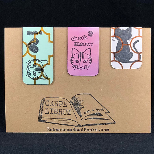 Check Meowt Magnetic Bookmark Set