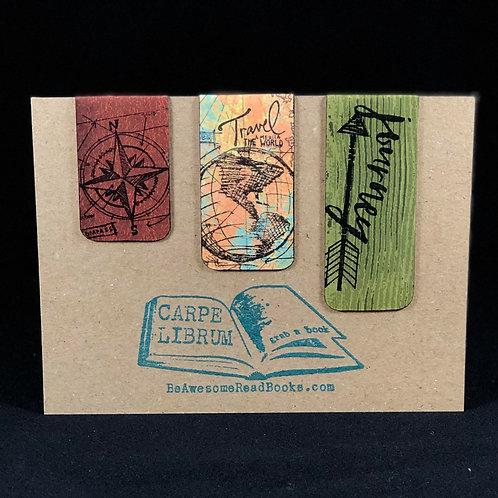 Travel the World Magnetic Bookmark Gift Set