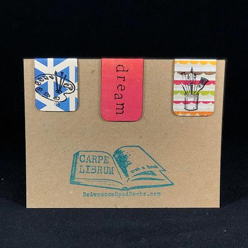 Dream Art Magnetic Bookmark Gift Set