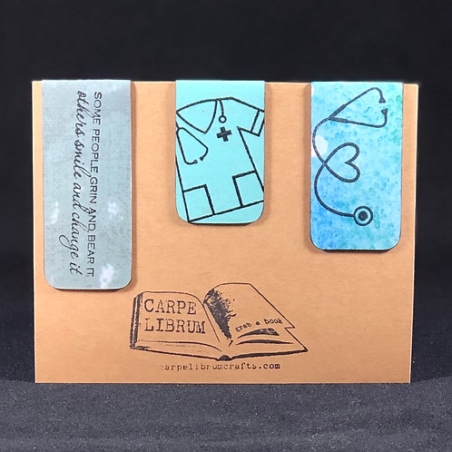 Medical Professional Magnetic Bookmark Gift Set