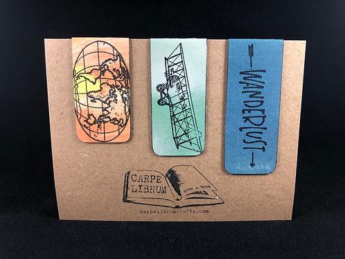 Global Wanderlust Magnetic Bookmark Gift Set