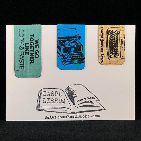 Punny Magnetic Bookmark Gift Set #4