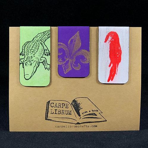 Louisiana Love Magnetic Bookmark Gift Set