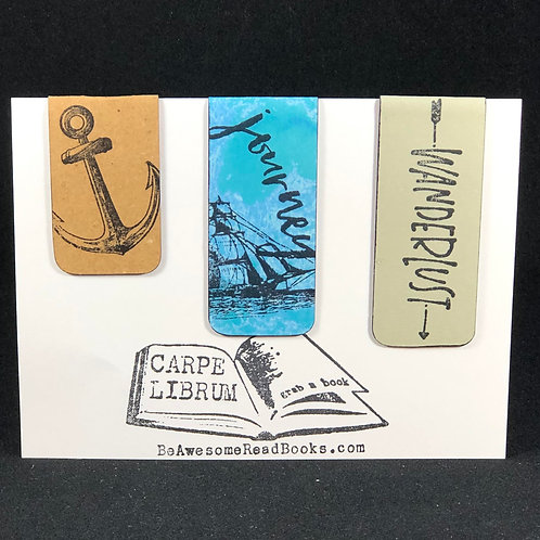 Journey the Sea Magnetic Bookmark Gift Set