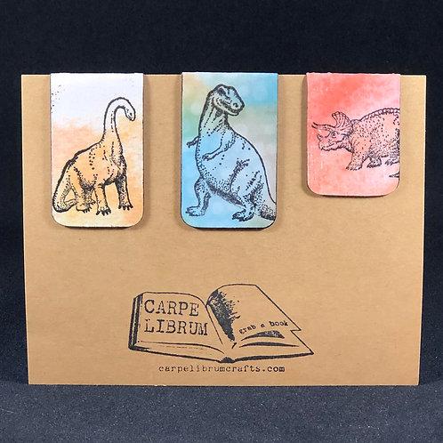 Dinosaur Magnetic Bookmark Gift Set