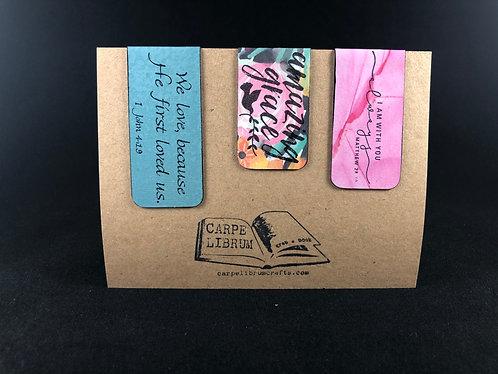 Amazing Grace Magnetic Bookmark Set