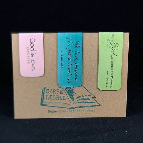 God is Love Magnetic Bookmark Gift Set