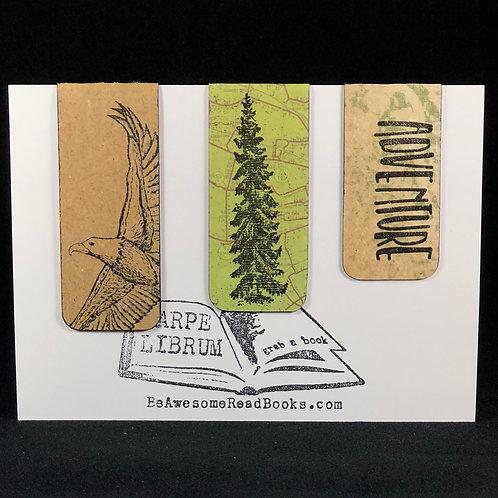Eagle Adventure Magnetic Bookmark Set