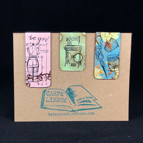 Sewing Magnetic Bookmark Gift Set