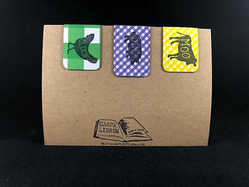 Farm Animals Magnetic Bookmark Gift Set