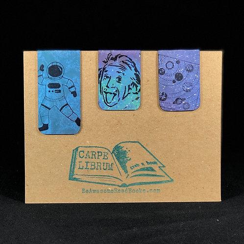 Einstein Space Magnetic Bookmark Gift Set