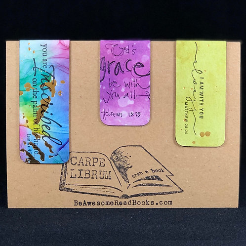 Inscribed Grace Magnetic Bookmark Gift Set