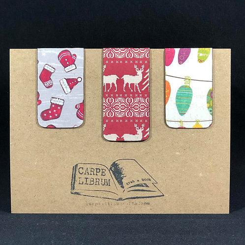 Christmas Magnetic Bookmark Gift Set