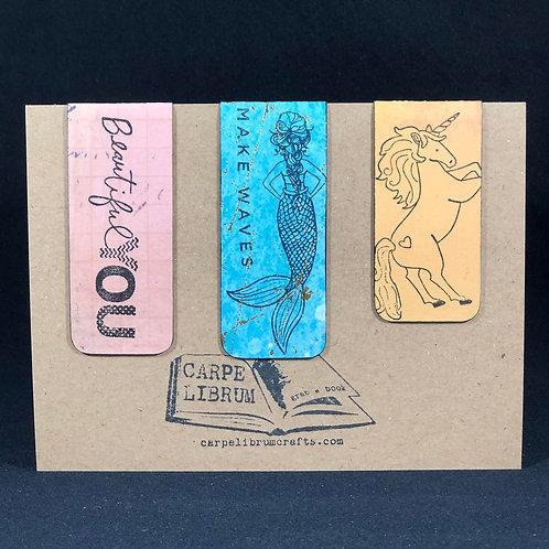 Make Waves (2) Magnetic Bookmark Gift Set
