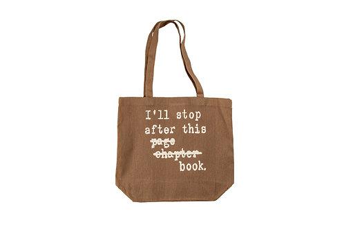 I'll Stop After... Book Swag Bag