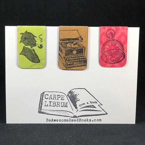 Sherlock Holmes Magnetic Bookmark Gift Set