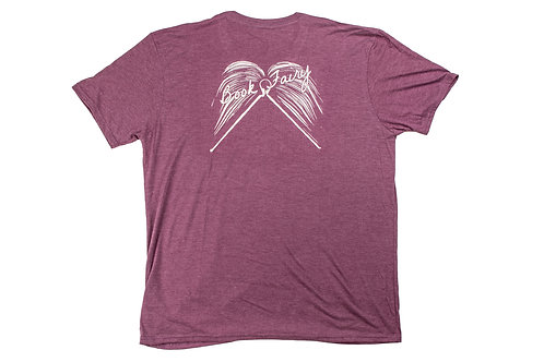 Book Fairy V-Neck T-Shirt